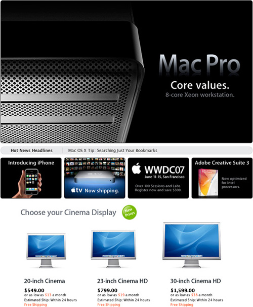 Apple releases 8-core